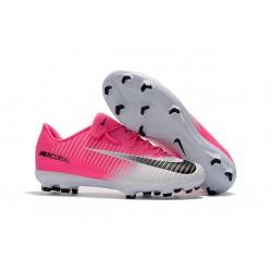Scarpe Da Calcio Nike Mercurial Vapor XI Tech Craft FG Rosa Bianco Nero