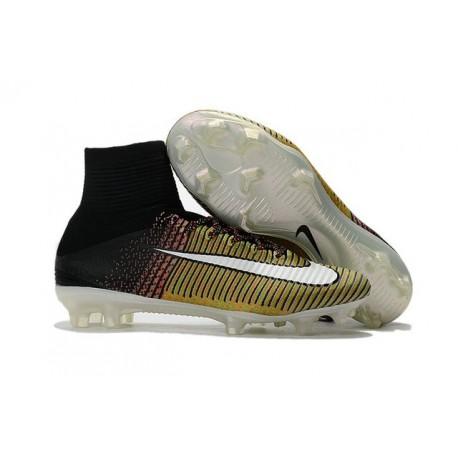 Scarpa da calcio Nike Mercurial Superfly V Tech Craft FG ACC Colore Giallo bianco