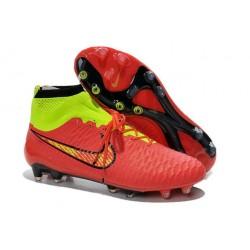 Scarpe calcio Nike Magista Obra FG - Uomo - Rosso Verde Nero