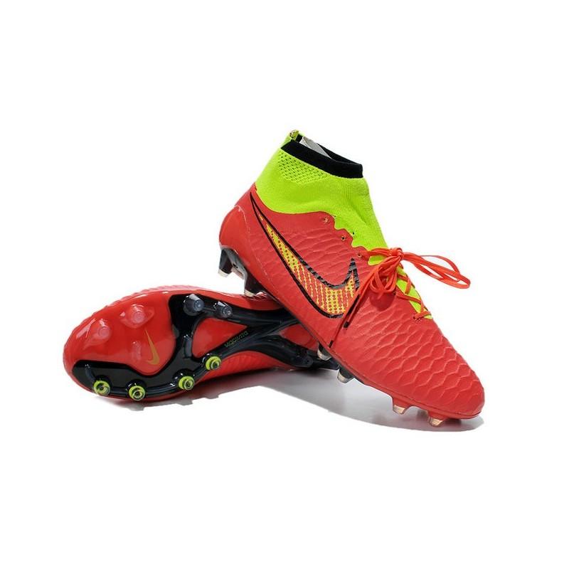 4f84d8e544811 get 2015 scarpe calcio nike magista obra fg blu rosso verde nero f2640  b8b74  official nike magista obra fg rosso f024a 71b80