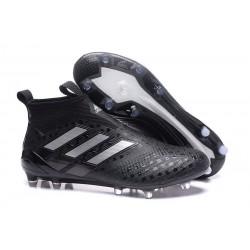 Scarpa da Calcio Adidas ACE 17+ Purecontrol FG Nero Bianco Notte metallizzata