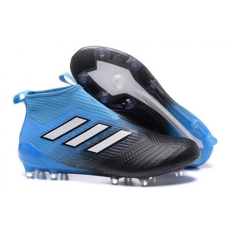 Nuove Adidas Calcio Adidas ACE 17+ Purecontrol FG Blu Nero