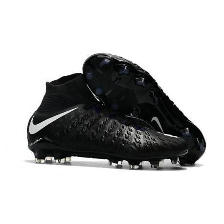 Nuove Nike da Calcio Hypervenom Phantom III DF FG Uomo Bianco Nero