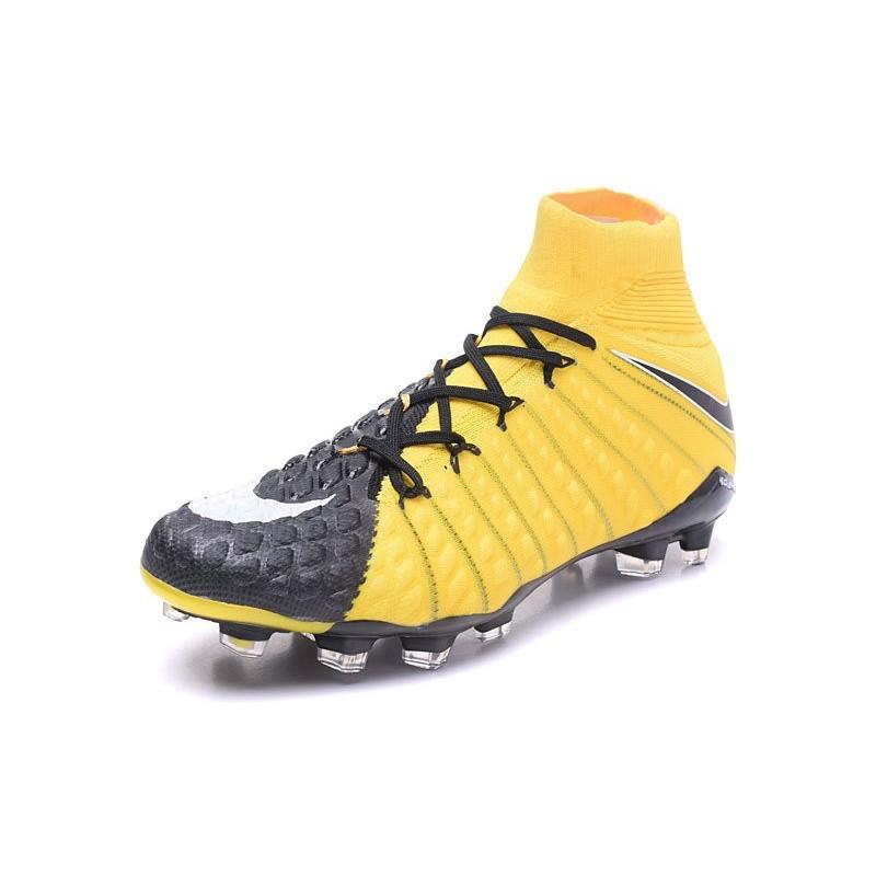 Scarpa Nike Hypervenom Phantom 3 DF FG Giallo Nero