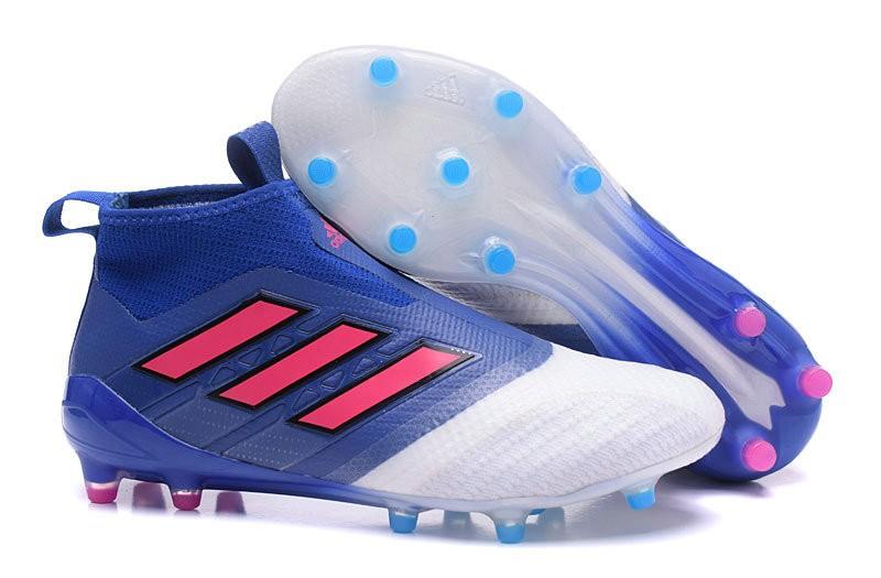 uk availability a2b50 f0e55 Scarpa da Calcio Adidas ACE 17+ Purecontrol FG Blu Rosso Bia