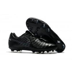 Nike Tiempo Legend 7 FG Scarpe da calcio Uomo Tutto Nero