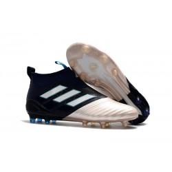 Scarpa da Calcio Adidas ACE 17+ Kith Purecontrol FG Oro Nero Bianco