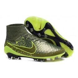 Scarpe calcio Nike Magista Obra FG - Uomo - Power Clash Verde Nero