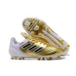 Nuovi Tacchetti da Calcio Adidas Copa 17.1 FG Oro Bianco Nero