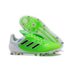 2017 Adidas Scarpe Calcio Copa 17.1 FG Uomo Verde Nero Bianco