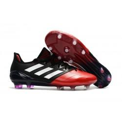 Adidas Ace 17.1 FG Tacchetti da Calcio Uomo Nero Rosso Bianco