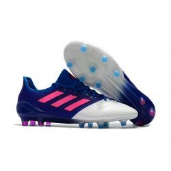 2017 Scarpe Da Calcio Adidas Ace 17.1 FG Blu Rosa Bianco