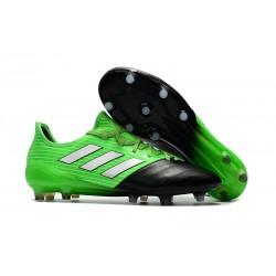 2017 Scarpe Da Calcio Adidas Ace 17.1 FG Verde Nero Argento