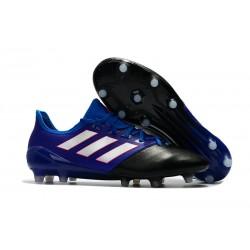 Nuove Adidas Ace 17.1 FG Scarpe da Calcio Blu Nero Bianco