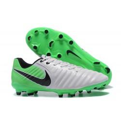 Nike Tiempo Legend 7 FG Scarpe da calcio Uomo Verde Nero