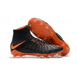 Nike Hypervenom Phantom III FG Neymar Scarpe Calcio 2017 Arancione Nero
