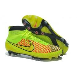 Scarpe calcio Nike Magista Obra FG - Uomo - Arancione Verde Nero
