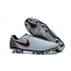 Nike Magista Opus II FG Scarpa da calcio - Uomo Grigio Nero Rouge