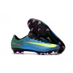 Scarpe Calcio Nike Mercurial Vapor 11 FG CR7 Blu Volt Rosa