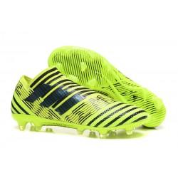 Scarpe Da Calcio Adidas - Nemeziz 17+ 360 Agility FG - Giallo Solare Nero