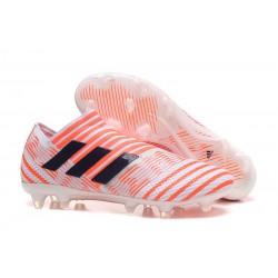 Scarpe Da Calcio Adidas - Nemeziz 17+ 360 Agility FG - Arancione Nero Bianco