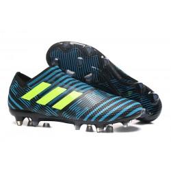 Scarpe Da Calcio Adidas - Nemeziz 17+ 360 Agility FG - Blu Giallo Blu Energia