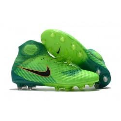 Scarpette da Calcio Nike Magista Obra 2 FG Verde Nero