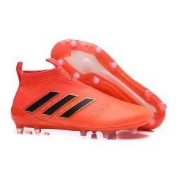 Scarpa da Calcio Adidas ACE 17+ Purecontrol FG Arancione Nero