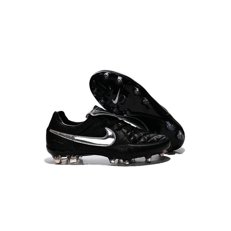 Fg Premium Argenteo Tiempo Totti Nike Scarpe Legend Da V Calcio Nero E2D9HI
