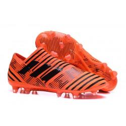 Scarpe Da Calcio Adidas - Nemeziz 17+ 360 Agility FG - Arancione Nero