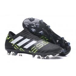 Scarpe Da Calcio Adidas - Nemeziz 17+ 360 Agility FG - Nero Giallo