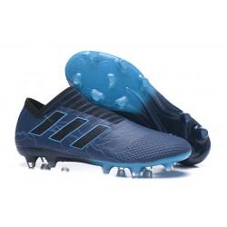 Scarpe Da Calcio Adidas - Nemeziz 17+ 360 Agility FG - Blu Nero