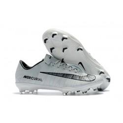 Scarpe Calcio Nike Mercurial Vapor 11 FG CR7 CR7 Grigio Nero Bianco