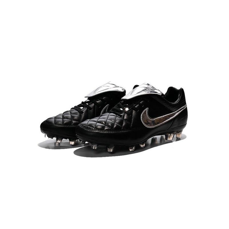 Totti Fg Nero V Scarpe Legend Da Tiempo Nike Premium Calcio Argenteo QdhrCts