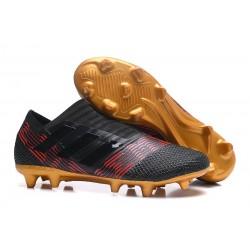 Adidas Nemeziz 17+ 360 Agility FG - Scarpe Da Calcio Uomo Nero Oro Rosso