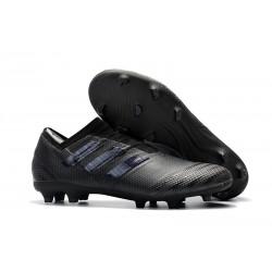 Adidas Nemeziz 17+ 360 Agility FG - Scarpe Da Calcio Uomo Tutto Nero