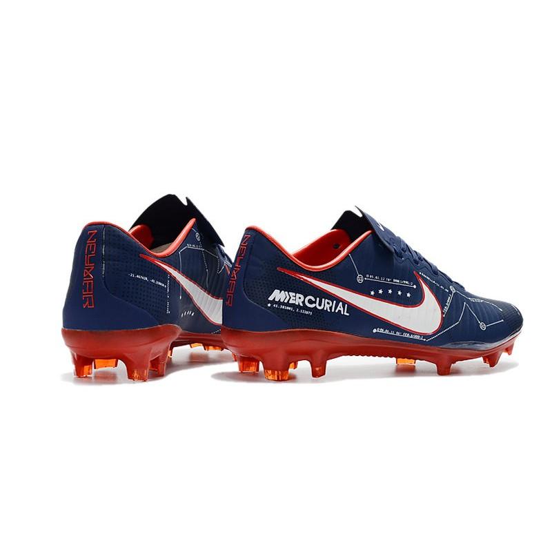 Scarpe Calcio Nike Mercurial Vapor 11 FG CR7 Blu Rosso
