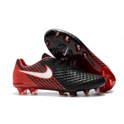 Nuove Nike Magista Opus II FG Scarpa da calcio per terreni duri - Nero Rosso Bianco