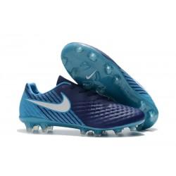 2017 Magista Opus II fg Scarpa da calcio per terreni duri Nike - Uomo Blu Bianco