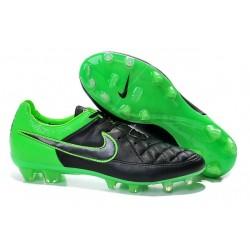 Nike Scarpe da Calcio Tiempo Legend V FG Verde Nero