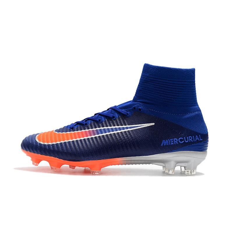 Scarpa da calcio Nike Mercurial Superfly 5 FG Uomo Blu