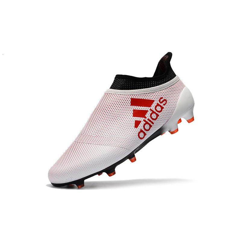 Rosso Scarpe Fg Bianco Uomo Adidas X Purespeed Nero Calcio 17 Qxpxe Da qRZWHxO