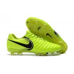 Nike Tiempo Legend 7 FG Scarpe da calcio Uomo Volt Nero
