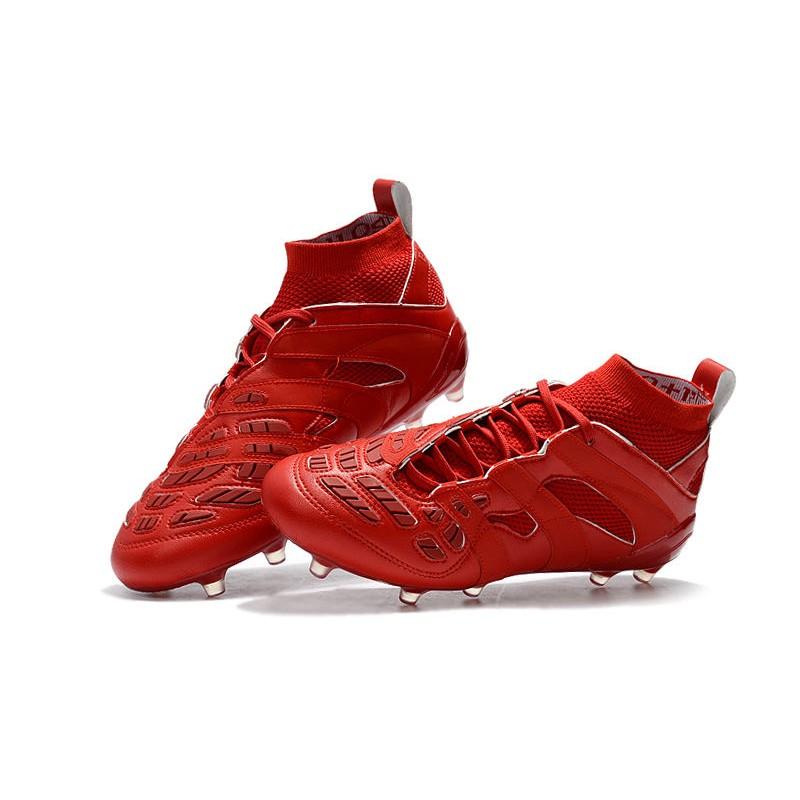 new styles c127f debe4 Adidas Calcio Scarpe Rosso Precision Beckham Tutto Fg ...