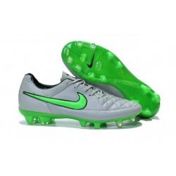 Scarpe Calcio Nike Tiempo Legend V FG - Uomo Grigio Verde Nero