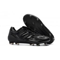 Nuovo Tacchetti da Calcio Adidas Predator Precision FG Tutto Nero