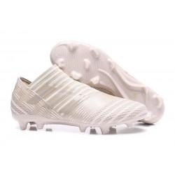 Adidas Nemeziz 17+ 360 Agility FG - Scarpe Da Calcio Uomo Marrone Sesamo Bianco Gesso