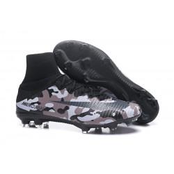 Scarpa da calcio Nike Mercurial Superfly 5 FG - Uomo - Camuffamento Grigio Nero