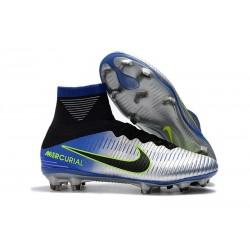 Scarpa da calcio Nike Mercurial Superfly 5 FG - Uomo - Blu Nero Cromo Volt