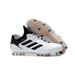 Nuovi Scarpe Da Calcio Adidas Copa 18.1 FG Uomo Bianco Nero Oro Metallico